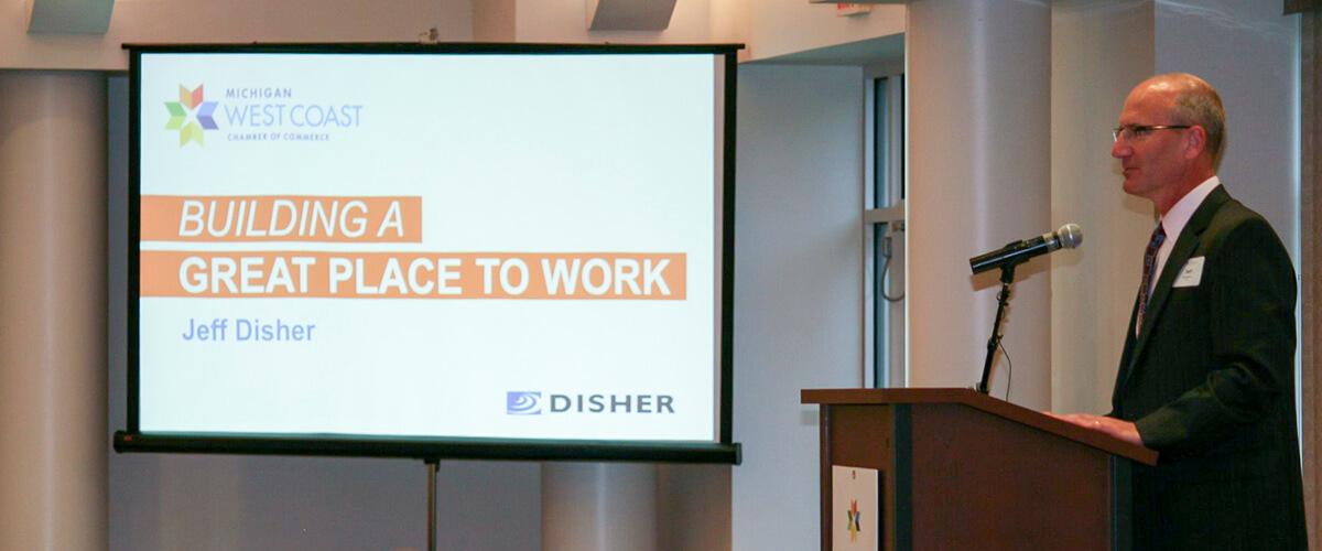 Jeff Disher Speaking