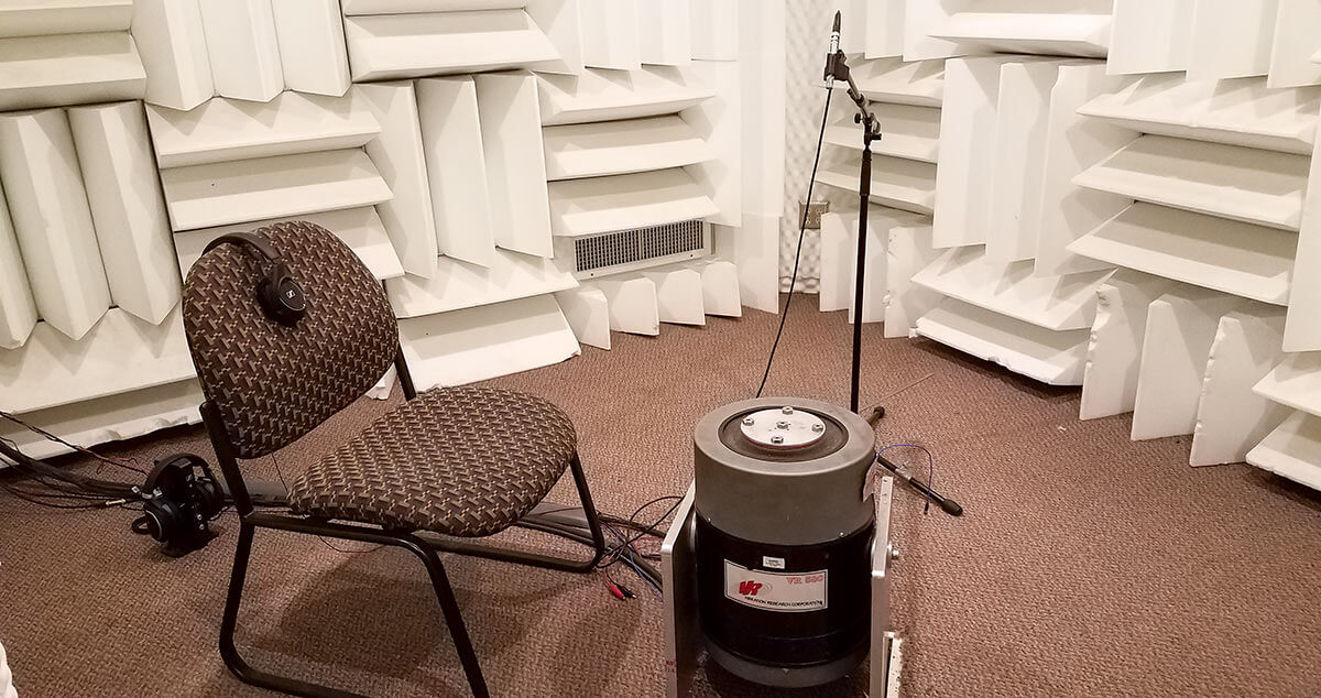 Proper Testing Equipment - Sound Booth