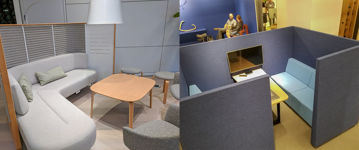 Miniaturized Booths and Collaboration Spaces
