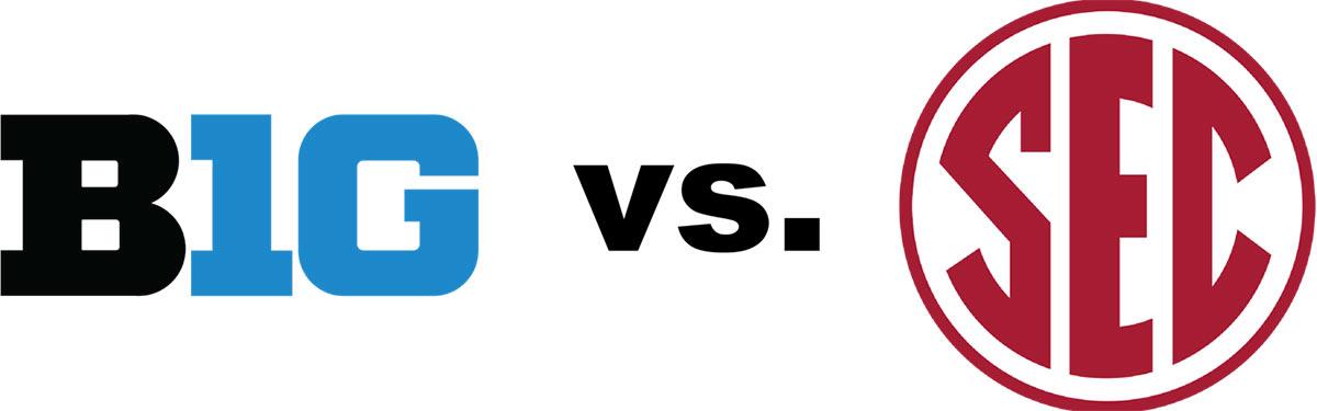 BIG 10 vs. SEC