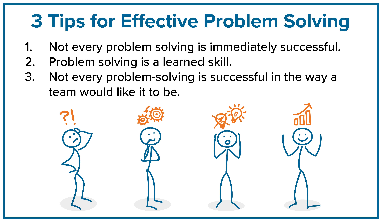 3 Problem Solving Tips